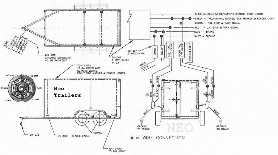 Tandem Axle Trailer Brake Wiring Diagram from neotrailers.com