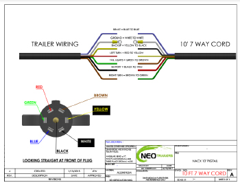 7 Way Wiring Diagram: NEO TRAILERS - MANUALrh:neotrailers.com,Design