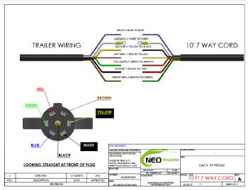 NEO TRAILERS MANUAL - Neo Trailer Wiring Diagram
